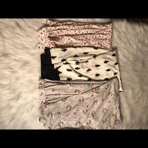 Charter club and Jenni pajama pants lot NWT